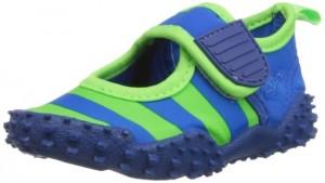 Aquaschuhe in Royalblau und Neongrün von Playshoes
