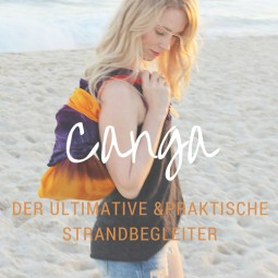 Canga – der ultimative und platzsparende Strandbegleiter!