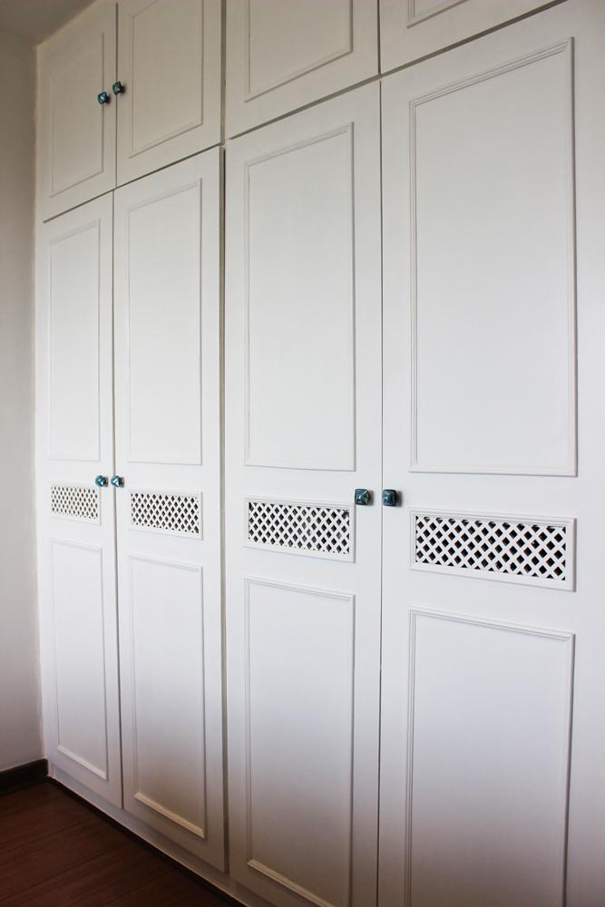 makeover so wird dein alter einbauschrank zum schmuckst ck style pray love. Black Bedroom Furniture Sets. Home Design Ideas