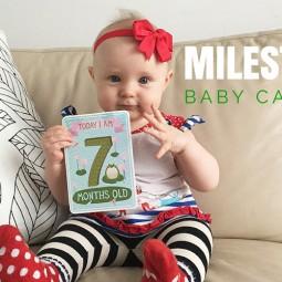 Milestone Baby Cards / Meilenstein-Babykarten