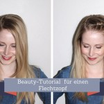 Superleichte Flechtfrisur im Video-Tutorial
