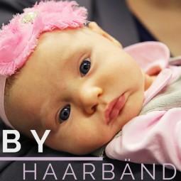 Süße Baby-Haarbänder für dein kleines Mädchen
