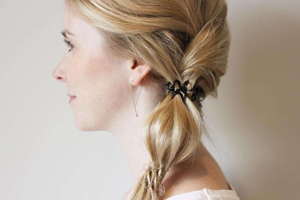 Frisuren mit 2 haargummis