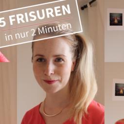 5 Frisuren in 2 Minuten – mit der Haargummi Spirale