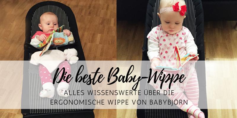 Baby-Erstausstattung: die ergonomische Baby-Wippe von BabyBjörn