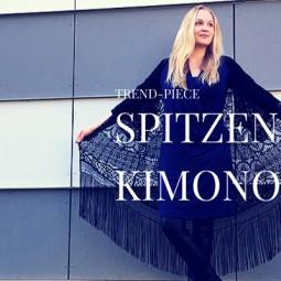 Trend-Piece: Spitzen-Kimono