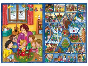 Fensterbild-Adventskalender