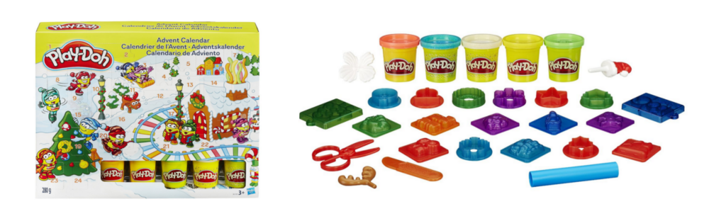 Play-doh-Knete-Adventskalender
