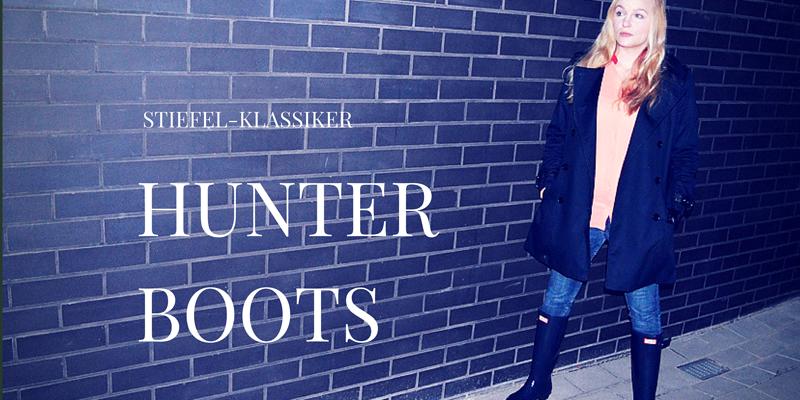 Stiefel-Klassiker: Hunter Boots