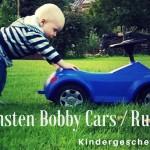 Die schönsten Bobby Cars / Rutschautos