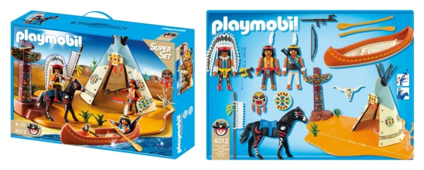 Playmobil-Indianer