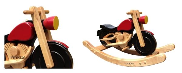 Schaukelmotorrad
