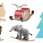 Schaukeltiere – Weihnachtsgeschenke für Jungen ab 1 Jahr