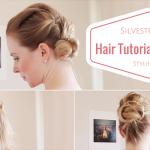 Hair Tutorial & Make-up Tipps für den festlichen Look an Silvester