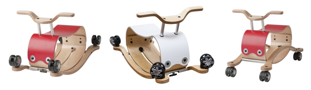 Wishbone-Schaukeltier-Rutschmobil