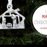 To-dos in der Vorweihnachtszeit: die Mami-Checkliste