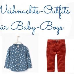 Weihnachtskleidung für Babys: Outfits für Jungs