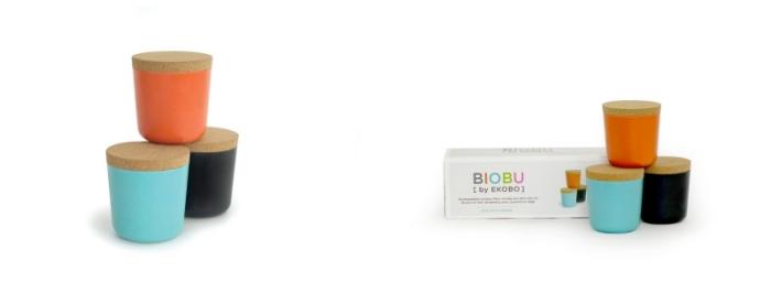 Biobu-Vorratsdosen