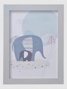 kinderzimmer-wandbild-elefant-vertbaudet