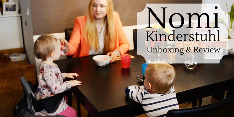 Der praktische Hipster: Kinderhochstuhl Nomi – Unboxing und Bewertung