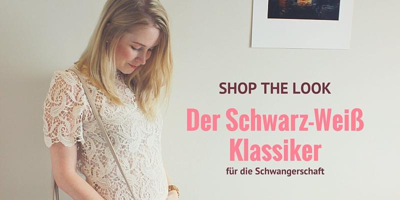Shop the look: Die Fashion-Klassiker in Schwarz und Weiß