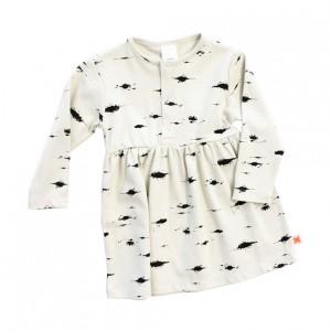 Tinycottons-Kleid-Birkenprint