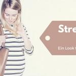 Streifenkleid – der bequeme Schwangerschafts-Look