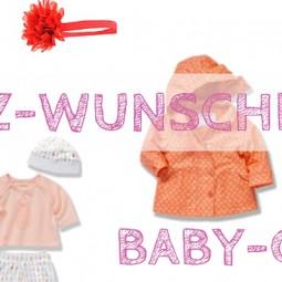 März-Wunschliste für Baby-Girls