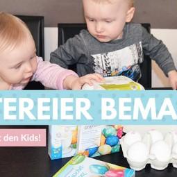 Ostereier bemalen – das erste Mal mit den Kids