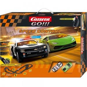Carrera-Spielbahn-Autorennen