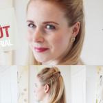 Hair-Tutorial: 3 schicke und einfache Fake Sidecut-Frisuren