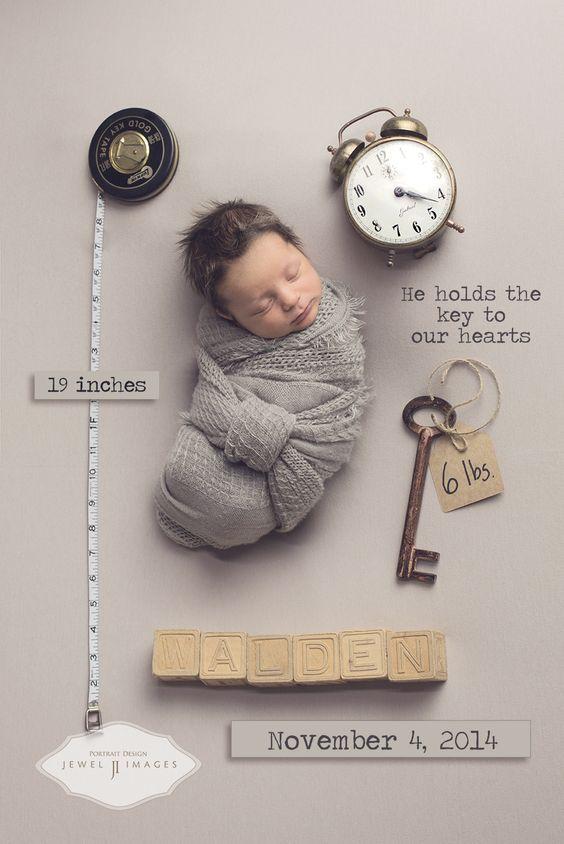 Baby Foto Ideen geburtsanzeige: 5 fotoideen für karten zur geburt • style-pray-love