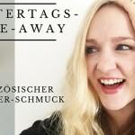 Muttertags-Give-away: Französischer Designer-Schmuck von Fräulein Röschen