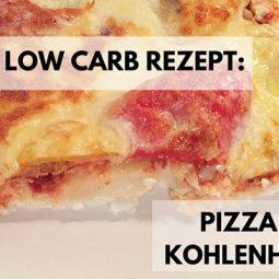 Low Carb Rezept: Leckere (!) Pizza ohne Kohlenhydrate