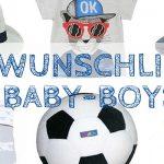 Mai-Wunschliste für Baby-Boys