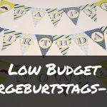 Low-Buget-Kinderparty: tolle Kindergeburtstags-Ideen für wenig Geld