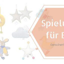 Geschenke zur Geburt: Spieluhren für Babys