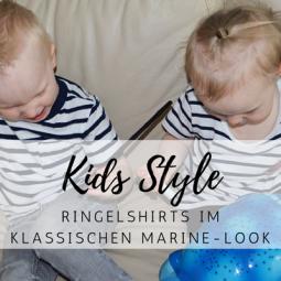 Kids Style: Ringelshirts im klassischen Marine-Look