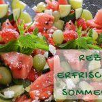 Rezept für einen erfrischenden Sommersalat