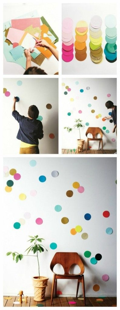 5 diy ideen wandgestaltung kinderzimmer style pray love for Deko wand kinderzimmer