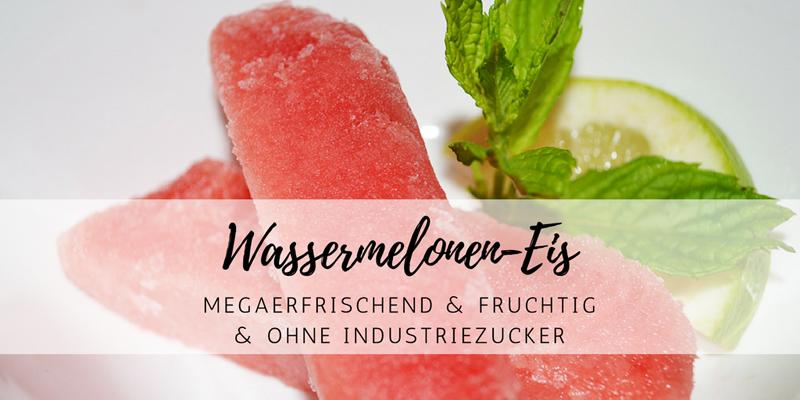 Wassermelonen-Eis – supereasy und superlecker
