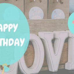 Hip-Hip-Hurrah Geburtstagskind – style. pray. love. wird 1 Jahr alt!