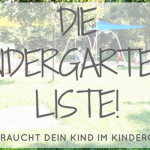 Kindergarten-Start: Das muss dein Kind mitbringen