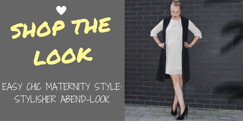 Shop The Look: Easy Chic – stylisher Maternity-Look für coole Mamis