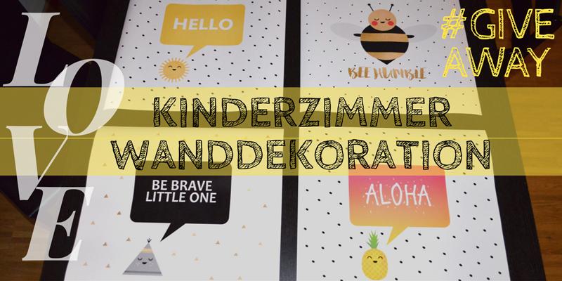 Superniedliche Kinderzimmer-Wanddekoration: mit Giveaway!