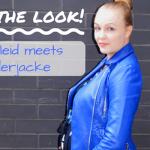 Maternity Style – Lederjacke meets Maxikleid