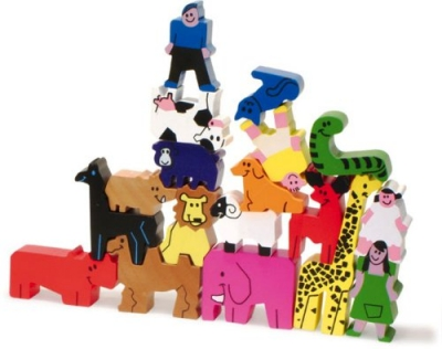 vilac-holz-animal-tower-puzzle-set