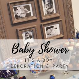 Baby Shower: It's a Boy!