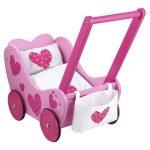 holz-puppenwagen-pink