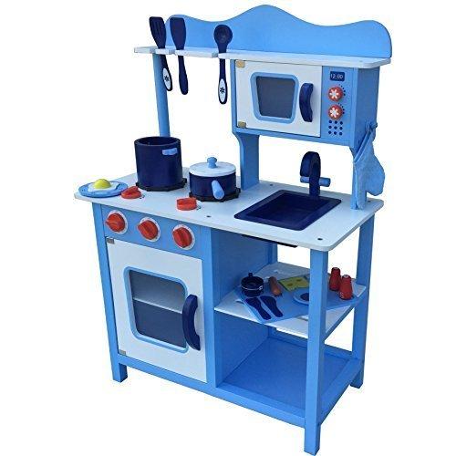 Blaue Kinderküche von Tiktaktoo